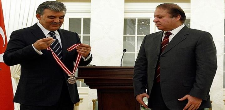 Pakistan Başbakanına Cumhuriyet Nişan