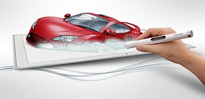 Panasonic'ten Ultra HD 20 inç tablet !