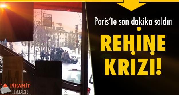 Paris'te son dakika saldırı yaşandı!