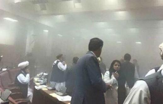 Parlemento binasına bombalı saldırı!