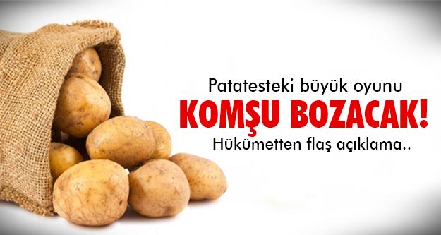 Patatese şok çözüm!