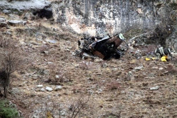 Peru'da helikopter düştü: 7 ölü