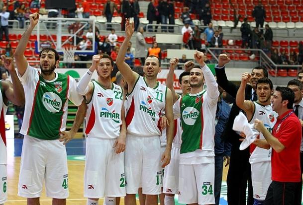Pınar Karşıyaka dörtlü finalde