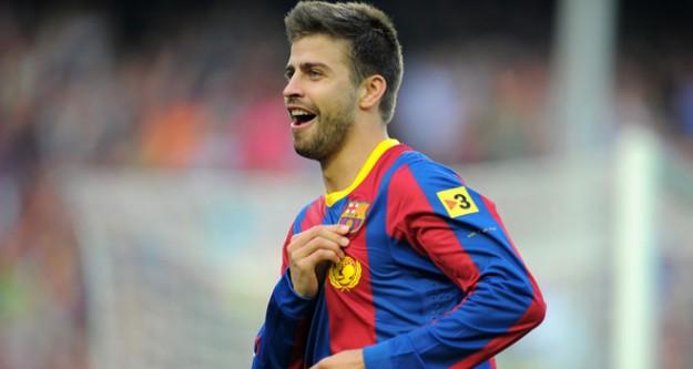 Pique, 2019'a kadar Barcelona'da