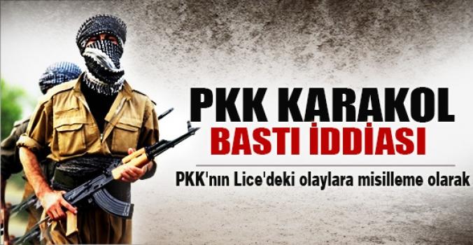 """""""PKK Karakol Bastı"""" İddiası"""