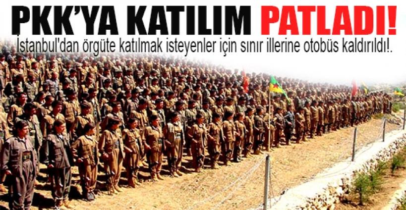 PKK'ya katılım patladı