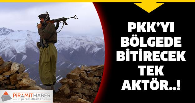 PKK'yı bitirecek aktörü işaret etti!