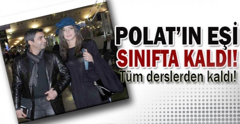 Polat Alemdar'ın eşi sınıfta kaldı