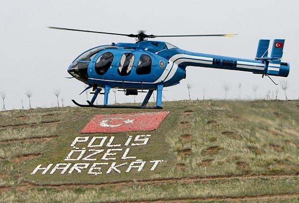 Polise hava gücü takviyesi