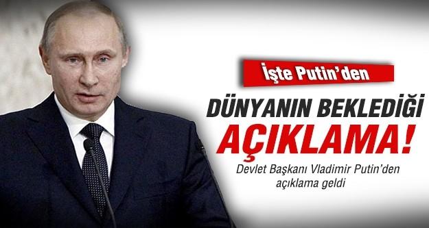 Putin konuştu: Ukrayna ile savaşmak istemiyoruz