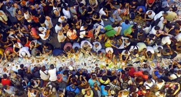 Ramazan'la birlikte Taksim'e dönüyor!