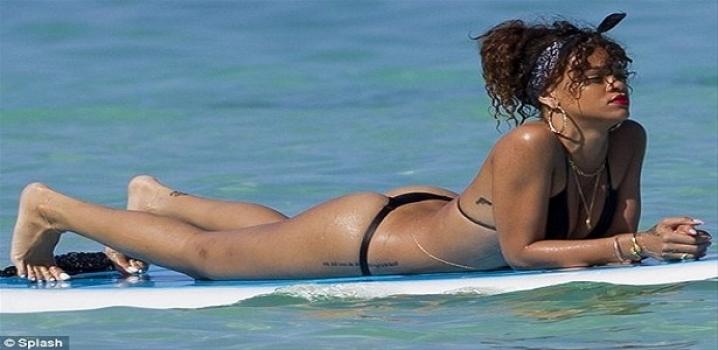 Rihanna tatile servet harcıyor