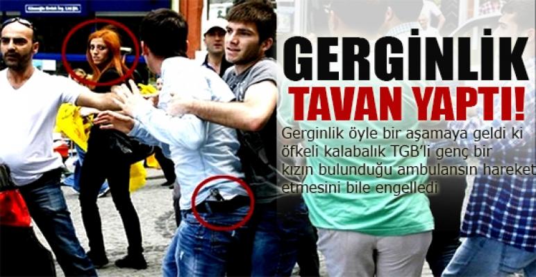Rize'de Gezi parkı  gerginliği