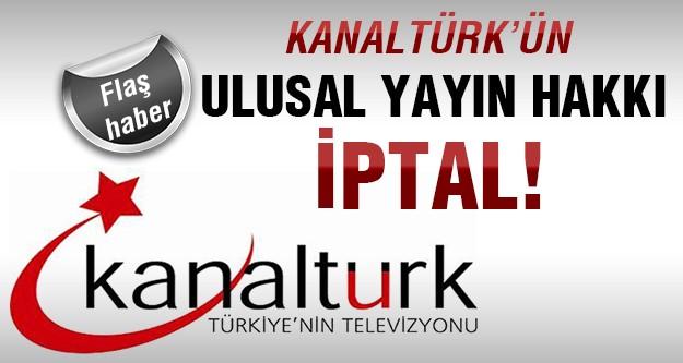 RTÜK'ten Kanaltürk'e darbe!