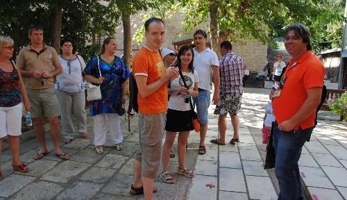 Rus turistler, turlarla Selçuklu ve Osmanlı eserlerini yerinde görüyor
