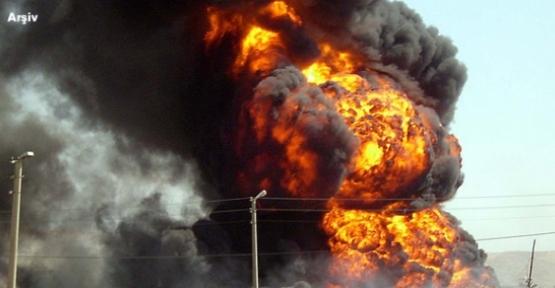 Rusya'da askeri mühimmat deposunda patlama