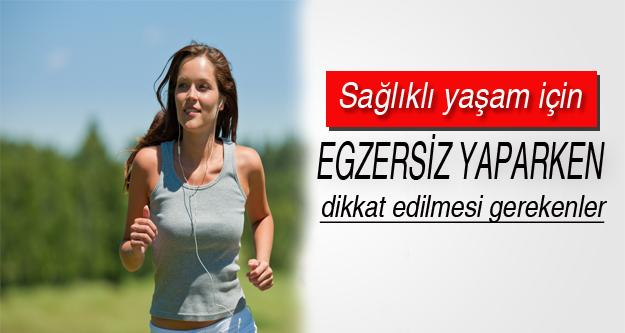 Sağlıklı yaşam için; Egzersiz