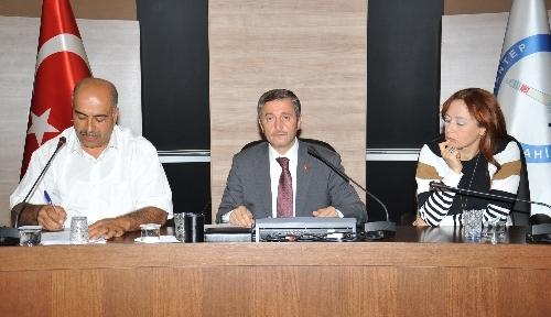 Şahinbey'de komisyon üyeleri seçildi