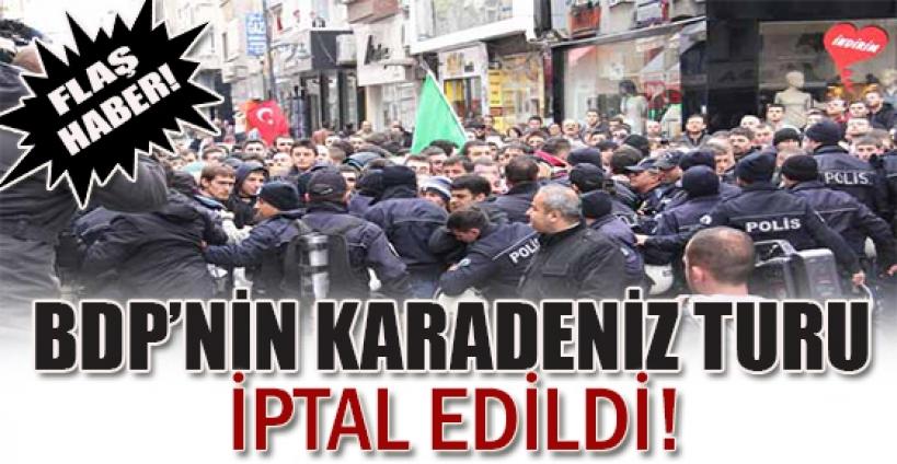 Samsun'da BDP gerginliği