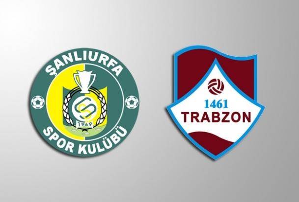 Şanlıurfaspor - 1461 Trabzon maçı tatil