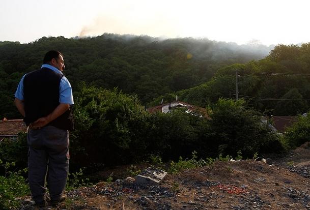 Sarıyer'deki orman yangını söndürüldü