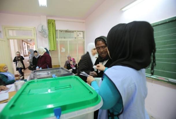 Seçimlere katılım yüzde 56,5'te kaldı