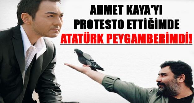 Serdar Ortaç: Atatürk'ü peygamber gibi görüyorduk