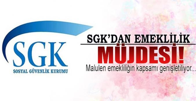 SGK'dan emeklilik müjdesi