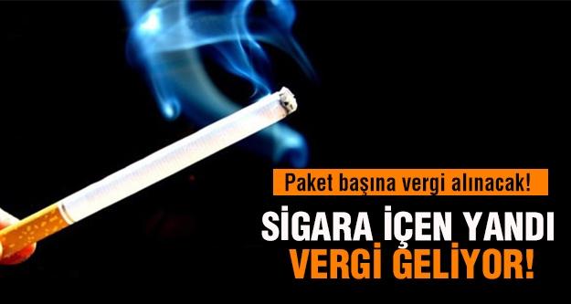 Sigara içen yandı!