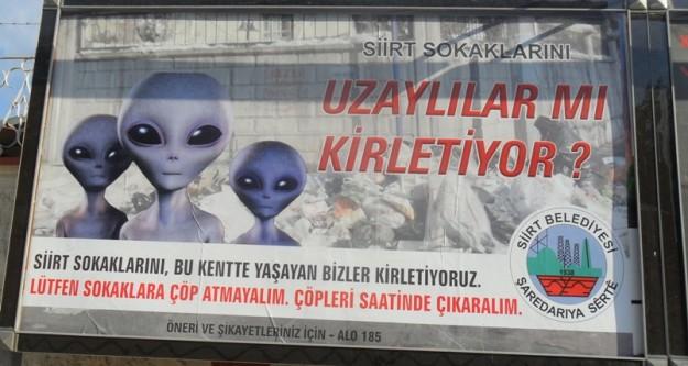 Siirt uzaylıları konuşuyor!