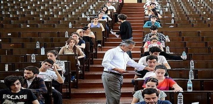 Sınav salonlarına kameralı takip !