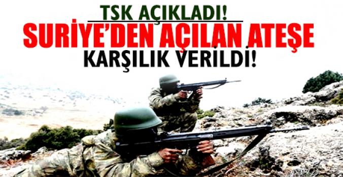 Sınır diğer yanında yine çatışma çıktı, yine bir Türk vuruldu