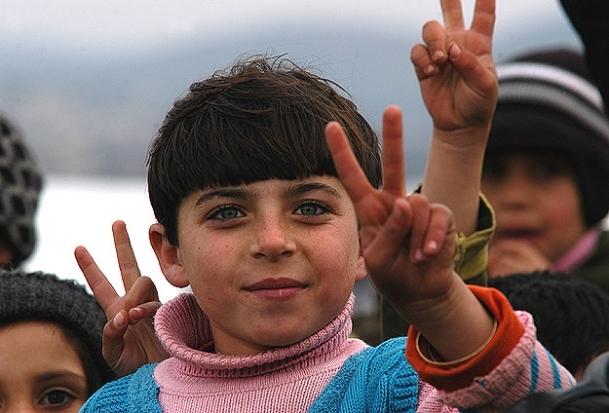 Sınırda on bin masum çocuk