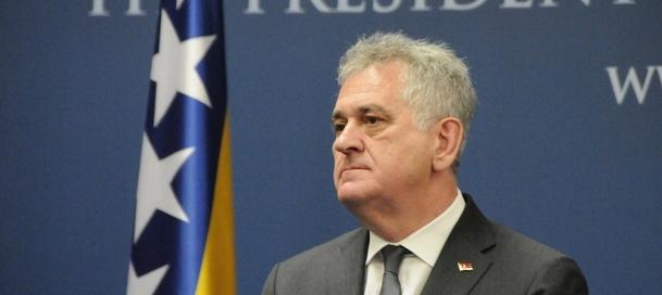 Sırbistan Cumhurbaşkanı Nikoliç'den