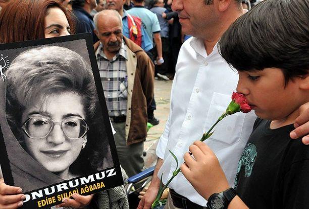Sivas'ta yaşamını yitirenler anıldı