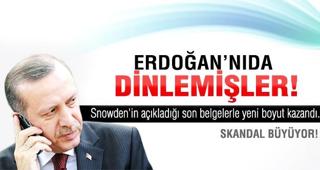 Skandal büyüyor..Erdoğanı da dinlemişler...