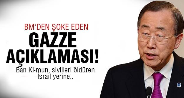 Skandal Gazze yorumu!