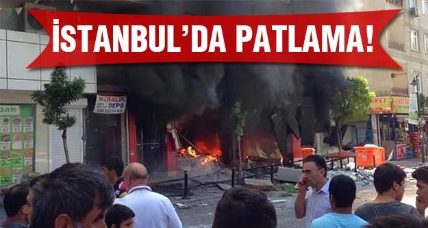 Son dakika.. İstanbul'da patlama meydana geldi! Nedeni..