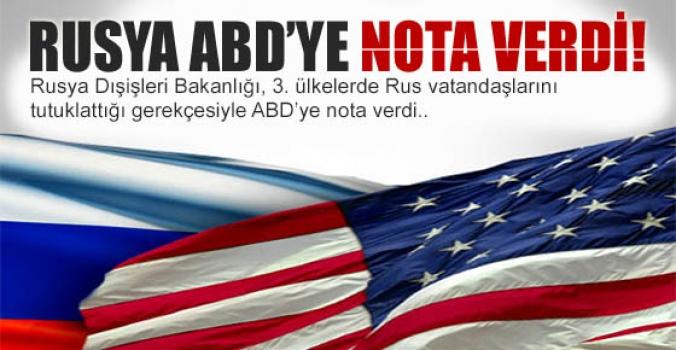 Son Dakika...Rusya ABD'ye nota verdi