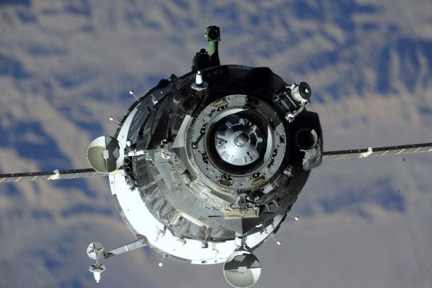 Soyuz uzay aracı UUİ'ye kenetlendi