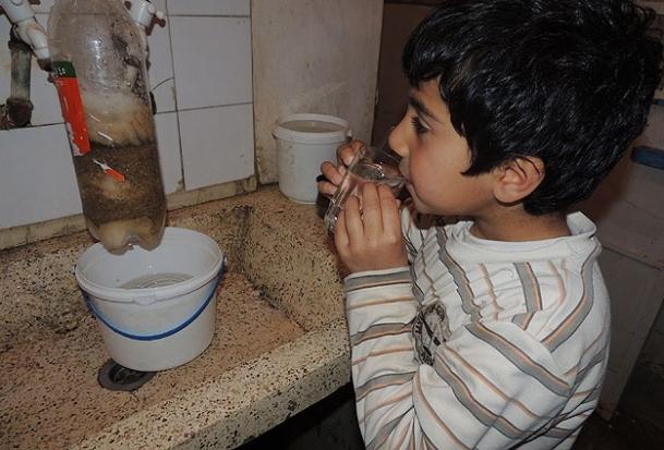 Suriye'de su sıkıntısı