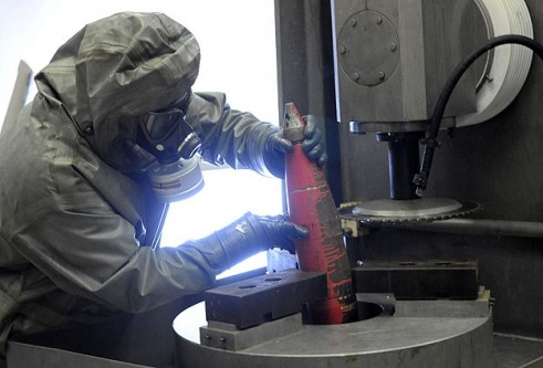 Suriye'deki kimyasallar İngiltere'de yakılacak