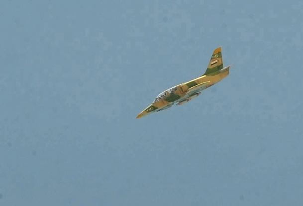 Suriye'den Azez'e hava saldırısı