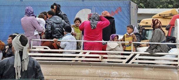 Suriye'den günde 7 bin kişi kaçıyor