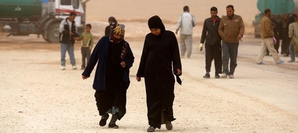 Suriyelilerden Ürdün'e ''endişeli'' kaçış