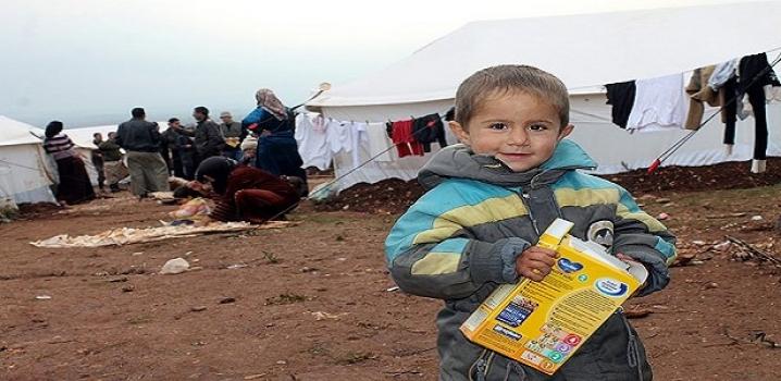 Suriyelilere 2 bin 500 ton gıda yardımı !