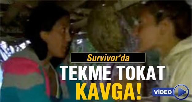 Survivor'daki kavga geceye damgasını vurdu!
