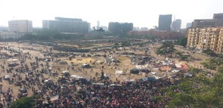 Tahrir Meydanında Darbe Kutlamaları Devam Ediyor
