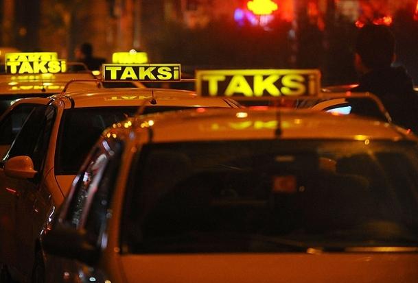 Taksilerde akbil çalışması yok