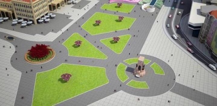 Taksim Meydanı'nda kazı çalışması başlatıldı..